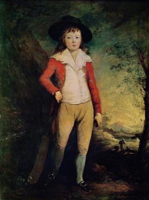 Portrait of William Seward with a Cricket Bat, c.1788-91