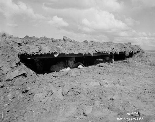 Machine Gun Emplacement | Ken Burns: The War
