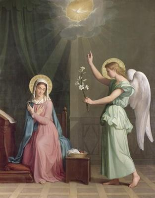 The Annunciation, 1859