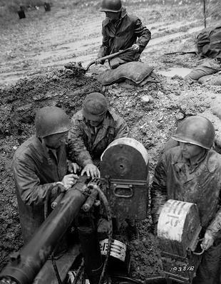 Gun Crew near the Volturno River | Ken Burns & Lynn Novick: The War