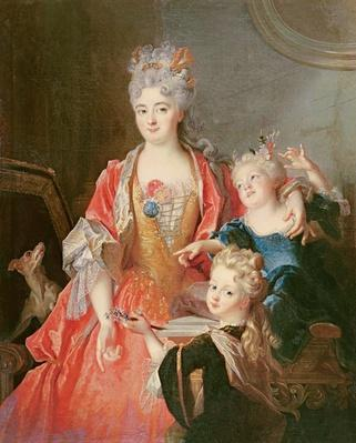 A Woman with Two Children