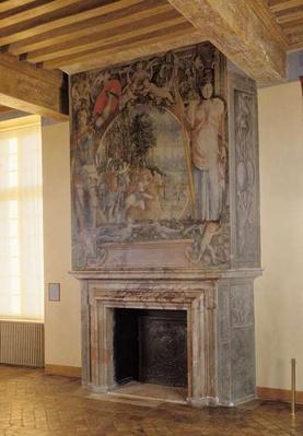 Fireplace in the Chambre du Roi