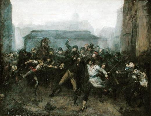 The Spy, Episode of the Siege of Paris, 1871