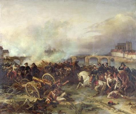 Battle of Montereau, 18th February 1814
