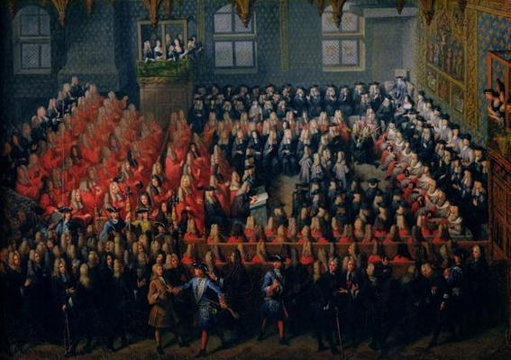 Bed of Justice Held at the Parlement de Paris, 12th September 1715