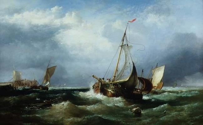 Shipping off the East Coast, 19th century