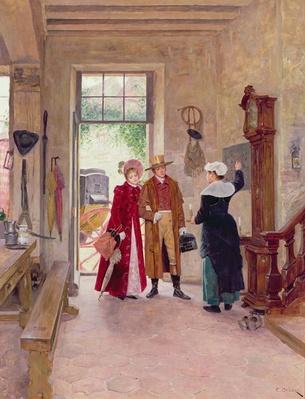 Arrival at the Inn