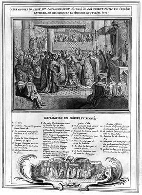 Consecration and Coronation of Henri IV