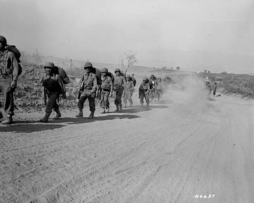 100th Infantry on the March | Ken Burns & Lynn Novick: The War