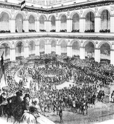 At the Paris Bourse, 1846