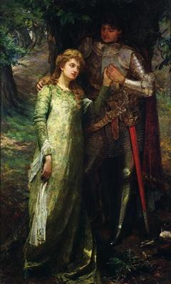 A knight and his lady