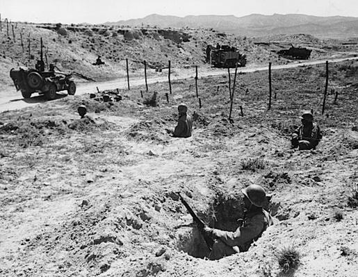 Dug in: North Africa | Ken Burns: The War