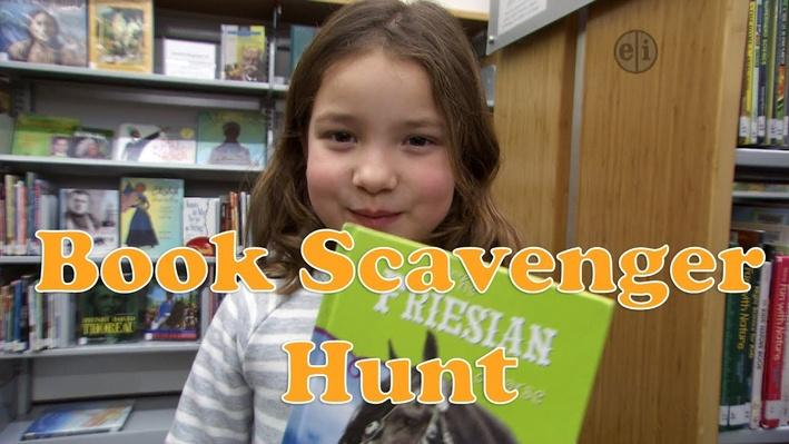 Read a Good Book: Kids Learn About Their School Library