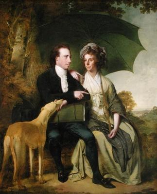The Rev. and Mrs Thomas Gisborne, of Yoxhall Lodge, Leicestershire, 1786