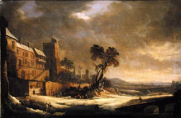 The Month of January, Snow Effect, 1699