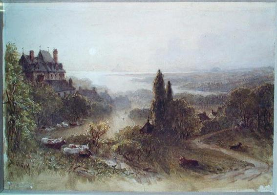 Landscape with a Large House