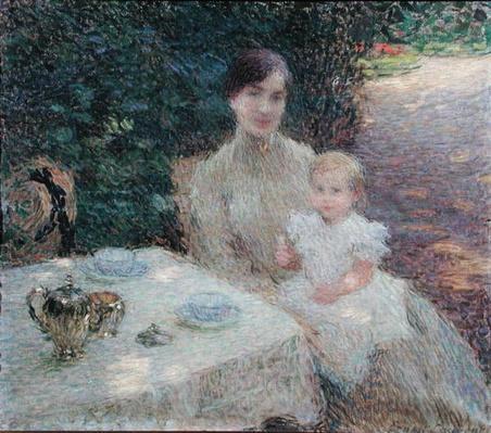 In the Garden, 1904