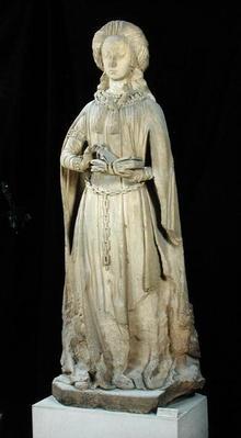 St. Suzanne, from the Chateau des Ducs de Bourbon, Chantelle, c.1500-03
