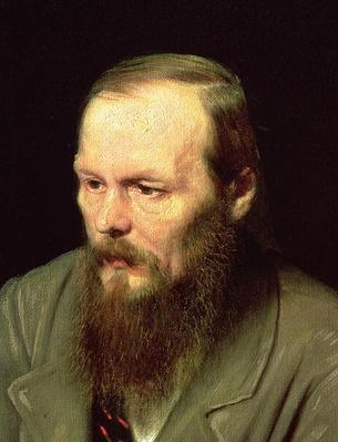 Portrait of Fyodor Dostoyevsky