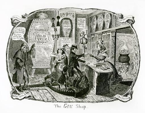 The Gin Shop, 1829