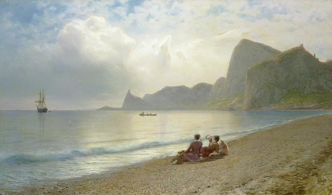 On the Beach, 1884