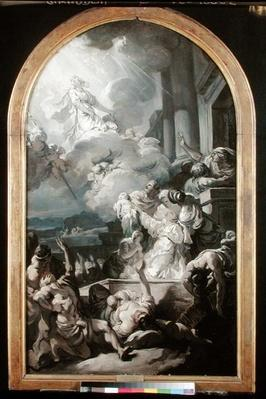 The Miracle of St. Genevieve, c.1765