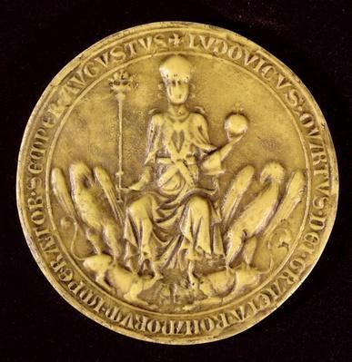 Seal of Louis IV de Baviere