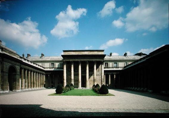 View of the courtyard of the Hotel de Salm, Palais de la Legion d'Honneur, built 1782-87