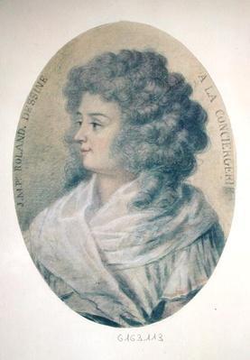 Portrait of Jeanne-Marie Roland de la Platiere