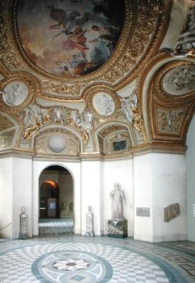 View of the Mars Rotunda with stucco figures by Michel Anguier