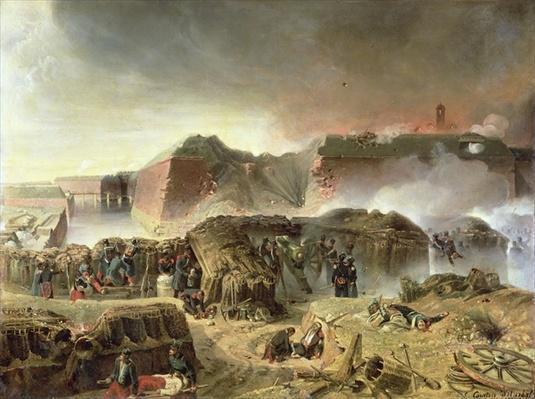 Siege of Antwerp, 23rd December 1832