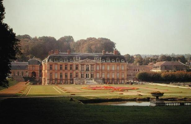 View of the garden facade, built in 1675-83