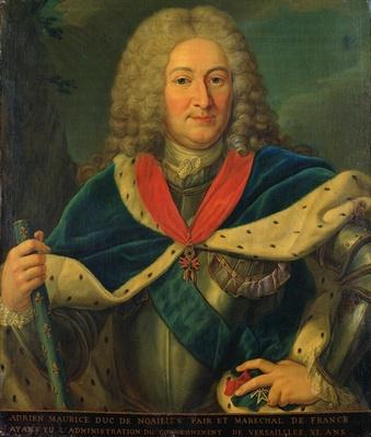 Duke Adrien-Maurice de Noailles