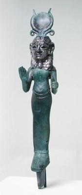 Statuette of a Phoenician goddess, from the Phoenician coast, 7th century BCE