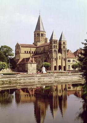 View of the Church of Notre-Dame, 11th-12th century