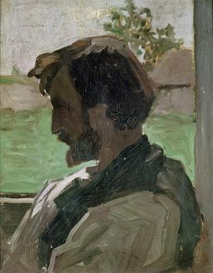 Self Portrait at Saint-Saveur, 1868