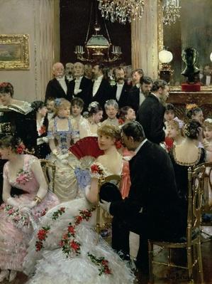 The Soiree, c.1880