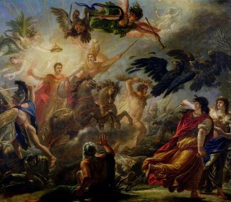 Allegory of the Battle of Austerlitz, 2nd December 1805