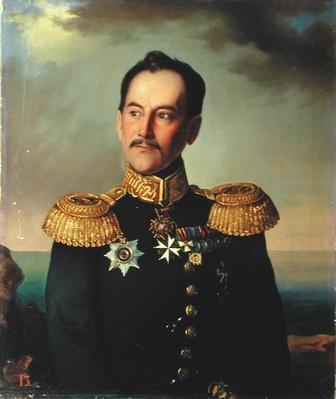 Portrait of Vice-admiral Nikolai Rimsky-Korsakov
