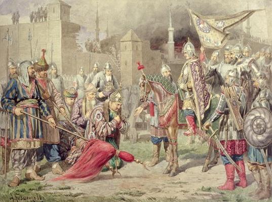 Tsar Ivan IV Vasilyevich the Terrible