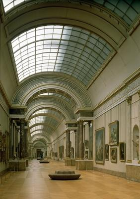 Interior view of the Grande Galerie, 16th-19th century