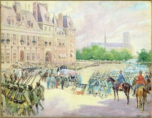 Funeral of General Joseph Gallieni