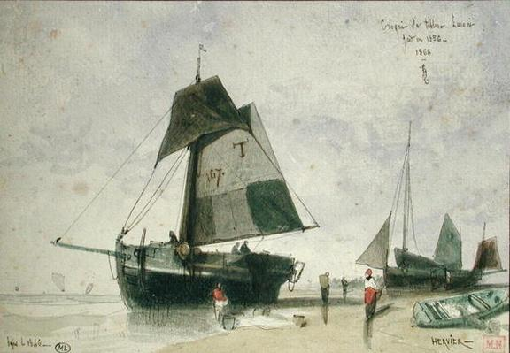 Two Fishing Boats, 1856