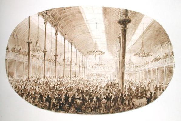 A Banquet, c.1865