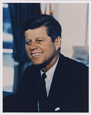 Portrait Photograph, President John F. Kennedy