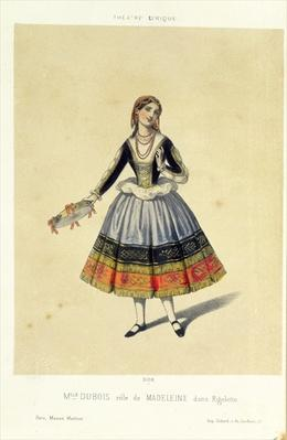 Maddalena, from 'Rigoletto' by Giuseppe Verdi