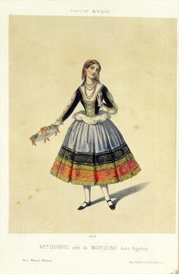 Maddalena, from 'Rigoletto' by Giuseppe Verdi