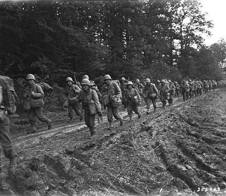 442nd: Marching through France | Ken Burns: The War