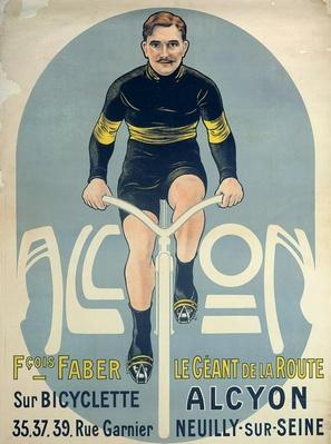 Poster depicting Francois Faber