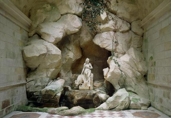 The Grotto of the Laiterie de la Reine, built in 1785